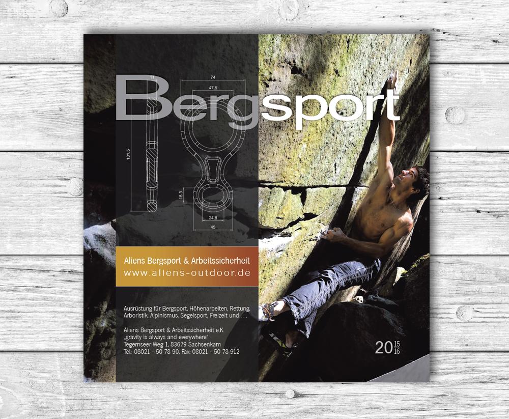 PrintDesign Katalog Bergsport und Höhenarbeiten