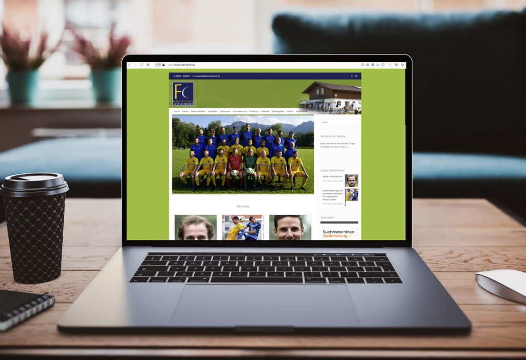WebDesign FC-Website