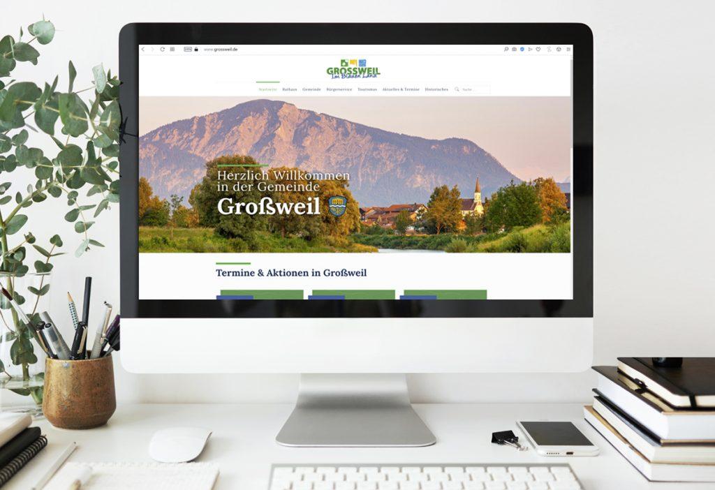 WebDesign Großweil Gemeindeseite